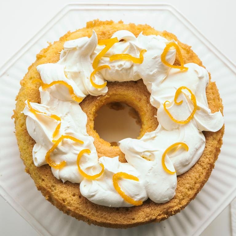 su-Corn Flour and Orange Blossom Chiffon Cake Image