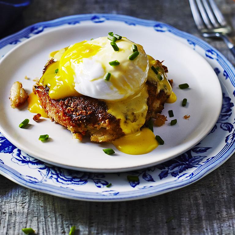 su-Crabcake Eggs Benedict Image