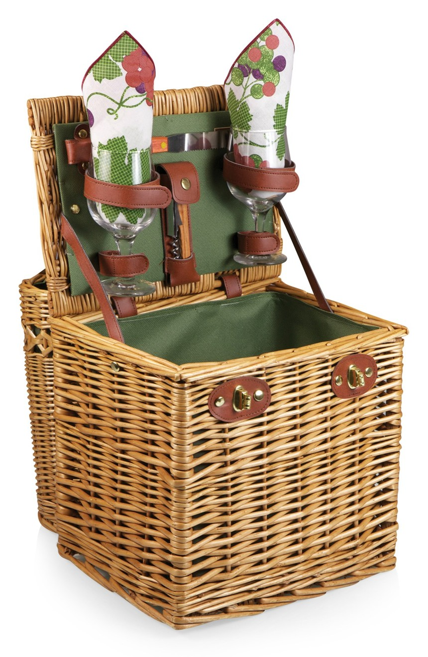 Picnic Time Vino Wine & Cheese Picnic Basket