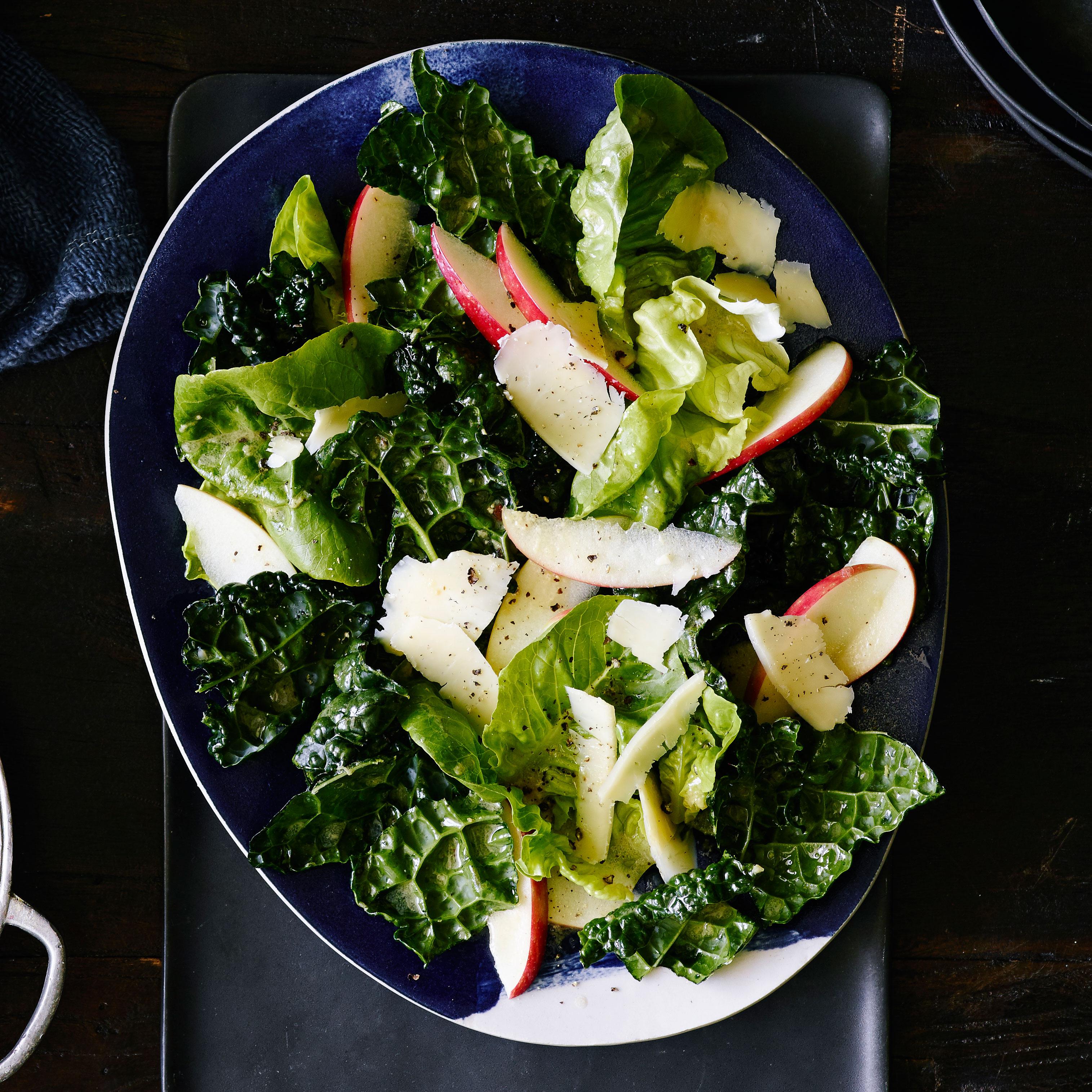 su-Fall Greens and Apple Salad Image