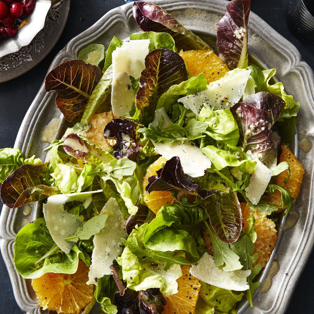 su-Fall Greens and Orange Salad Image