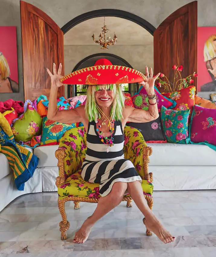 Take a Look Inside Betsey Johnson's Colorful Villa in Mexico