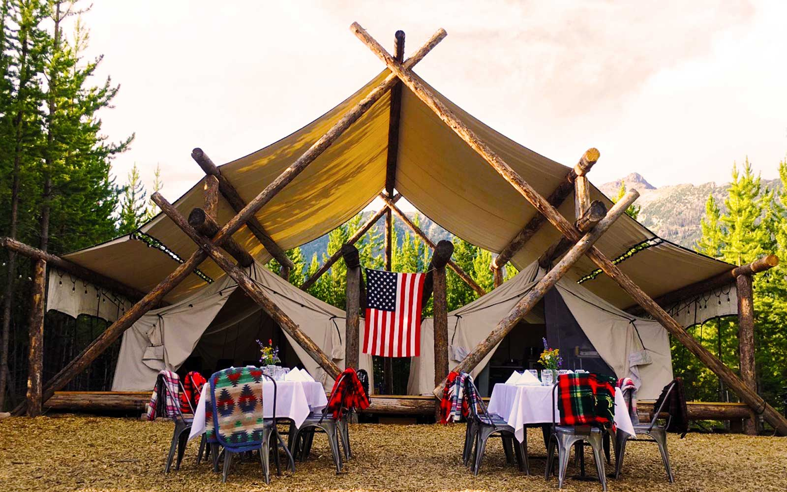 Go Gl&ing near Yellowstone with Lakeside Teepees and a Personal Chef & Sunset Magazine - Sunset Magazine