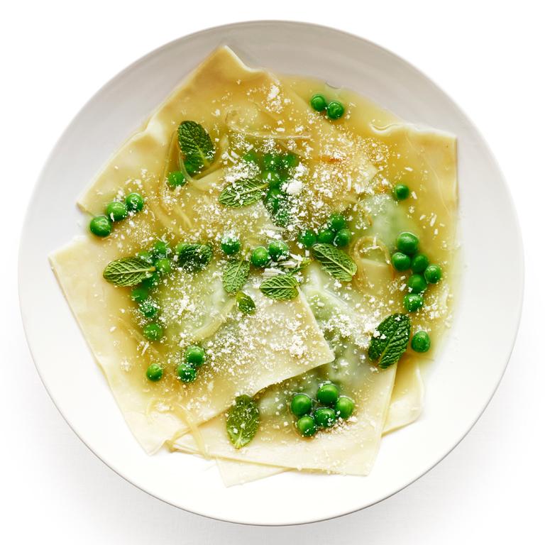 su-Pea and Fresh Mint Ravioli Image