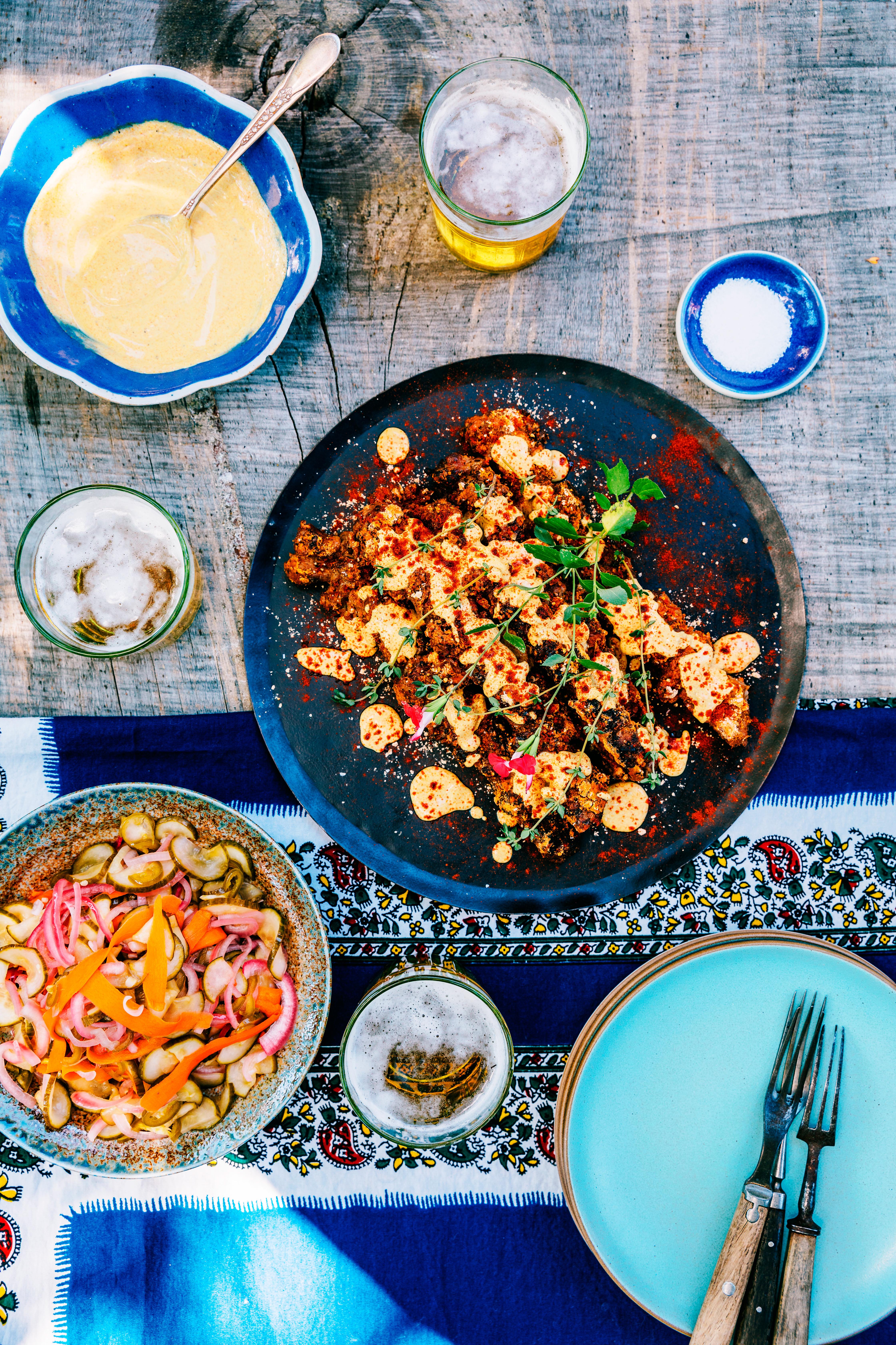 su- Ghanaian Peanut Spice Lamb Skewers Yaazzi