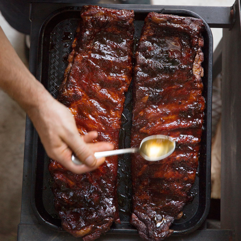su-Ginger Rosemary Smoked Pork Ribs Image