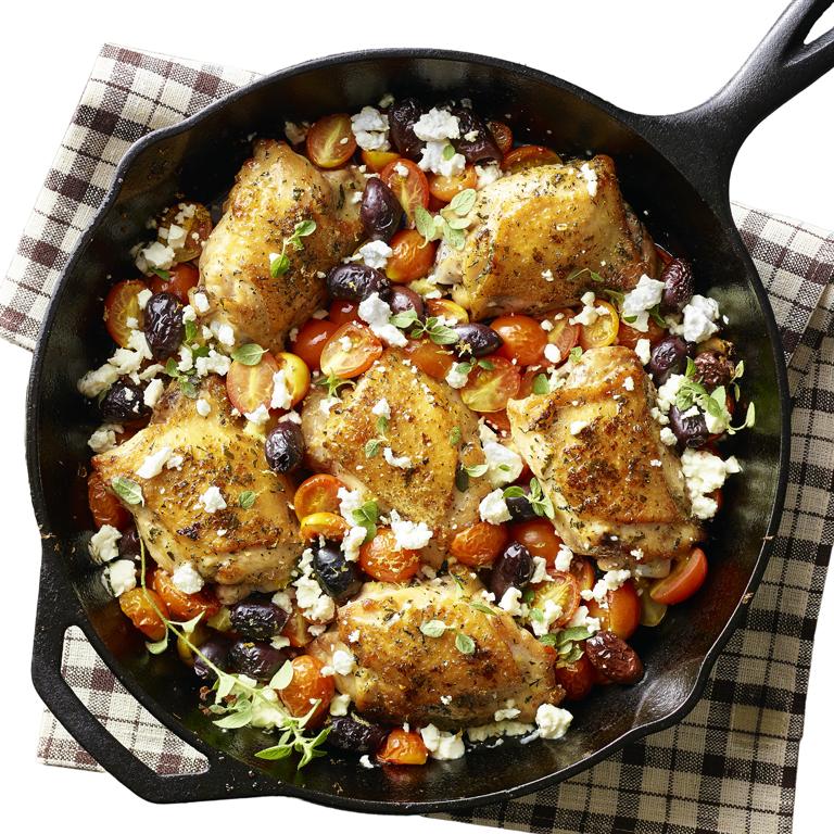 su-Greek Salad Chicken Image