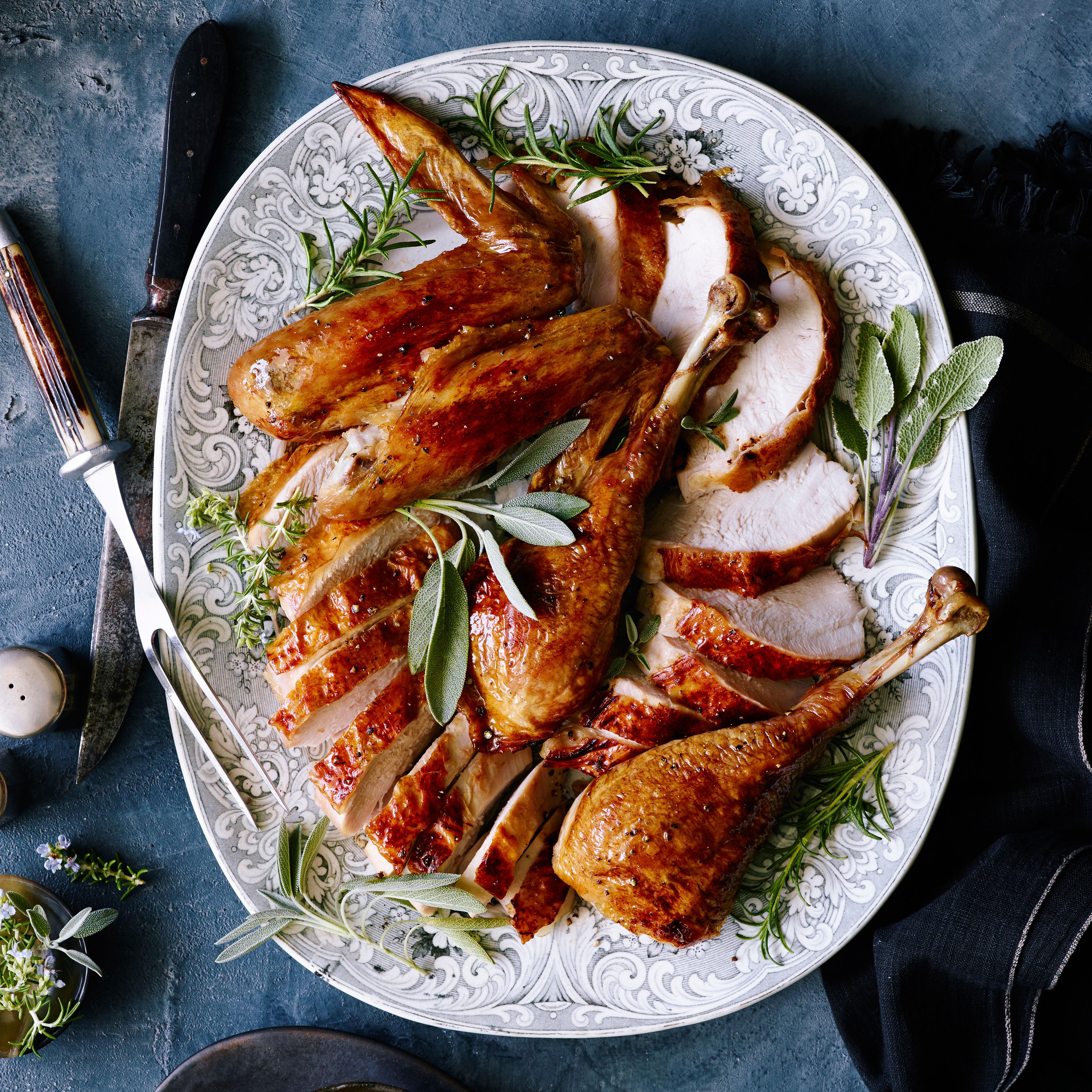 su-Grilled Butterflied Turkey Image