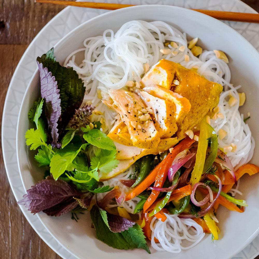 su-Hanoi Style Salmon Turmeric Dill Image