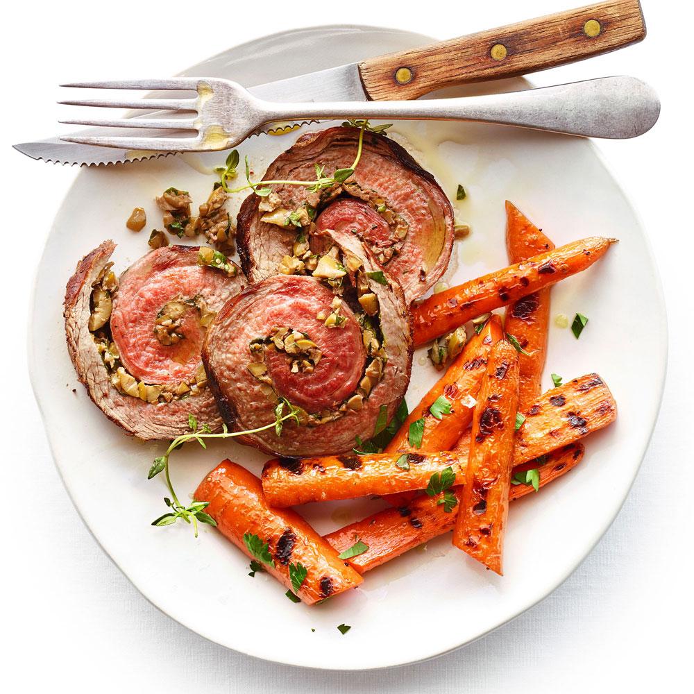 su-Herb Stuffed Flank Steak Image