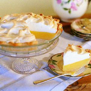 Weep-no-more lemon meringue pie
