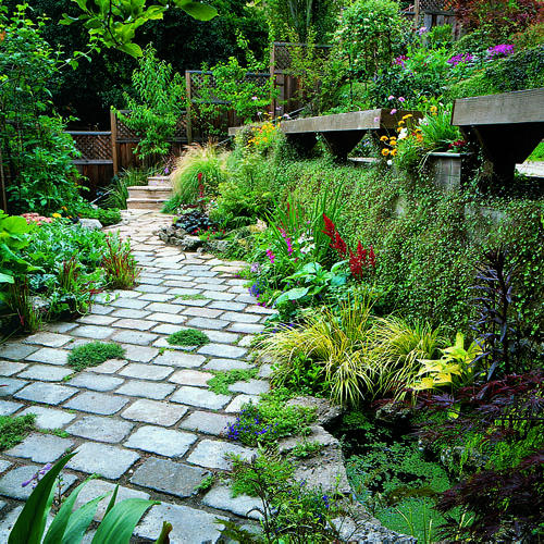 Sloping Garden Ideas And Optimal Solutions For Landscape