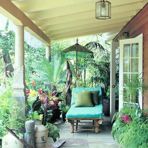 Sunset Gardens Apartments: Make A Porch A Personal Resort In The Suburbs