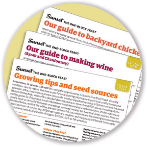Download printable guides to all our projects, from bees to cheese