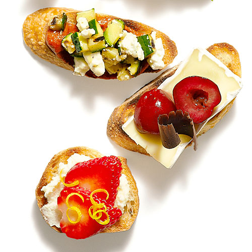 Even more ways with bruschetta