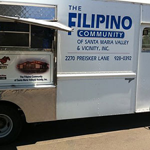 Filipino Community Center food truck