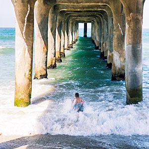 A peerless pier, Manhattan Beach