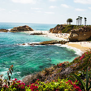 Most beautiful stretch of sand, Laguna Beach