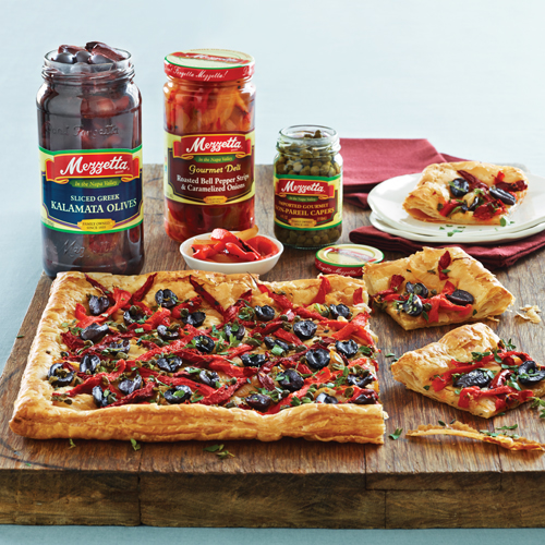 Mezzetta Roasted Red Pepper and Caramelized Onion Pissaldiere