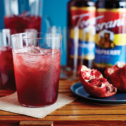 Pomegranate Raspberry Holiday Punch