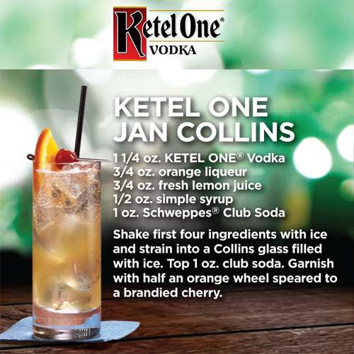 KETEL ONE JAN COLLINS