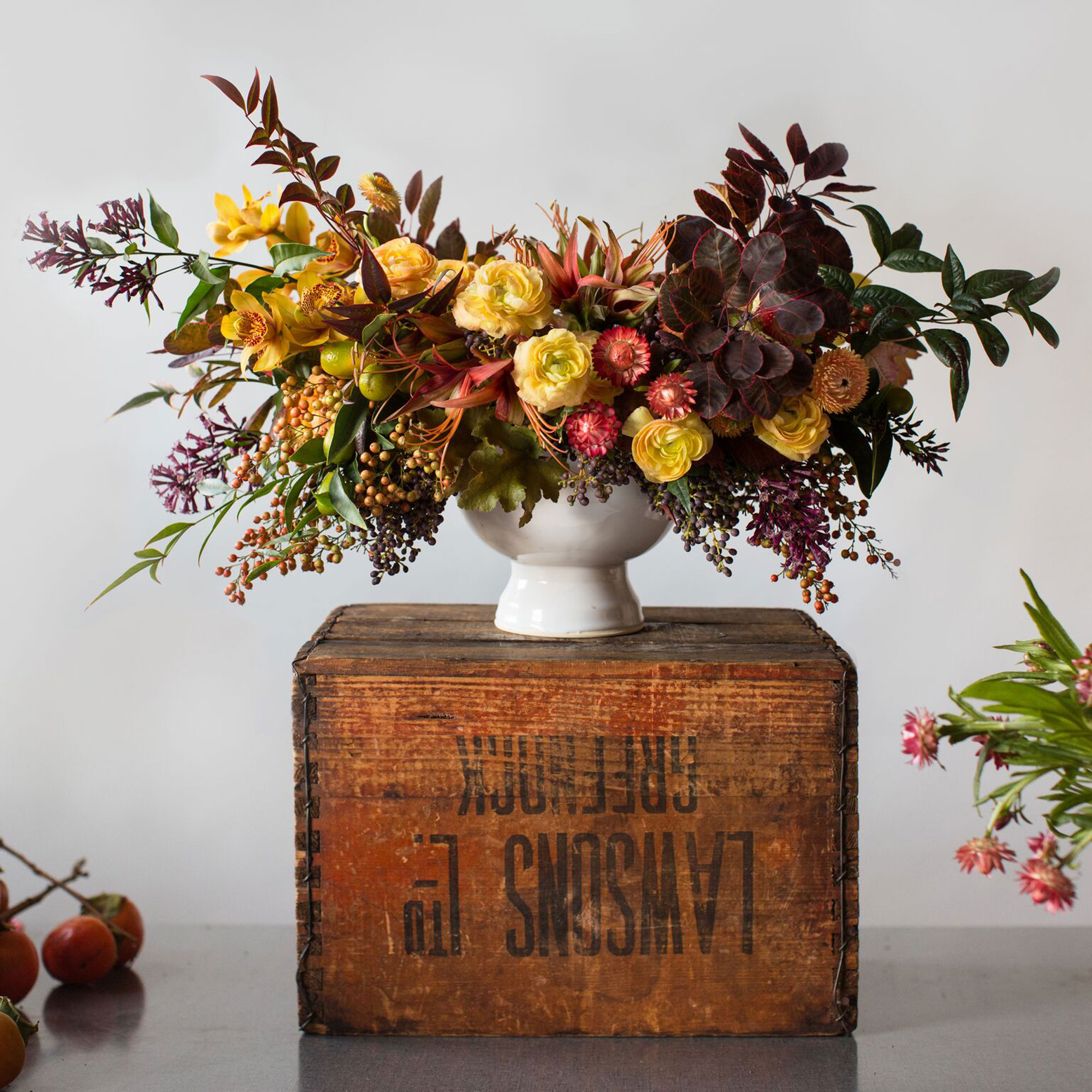 Ingenious Floral Arrangements Sunset Sunset Magazine