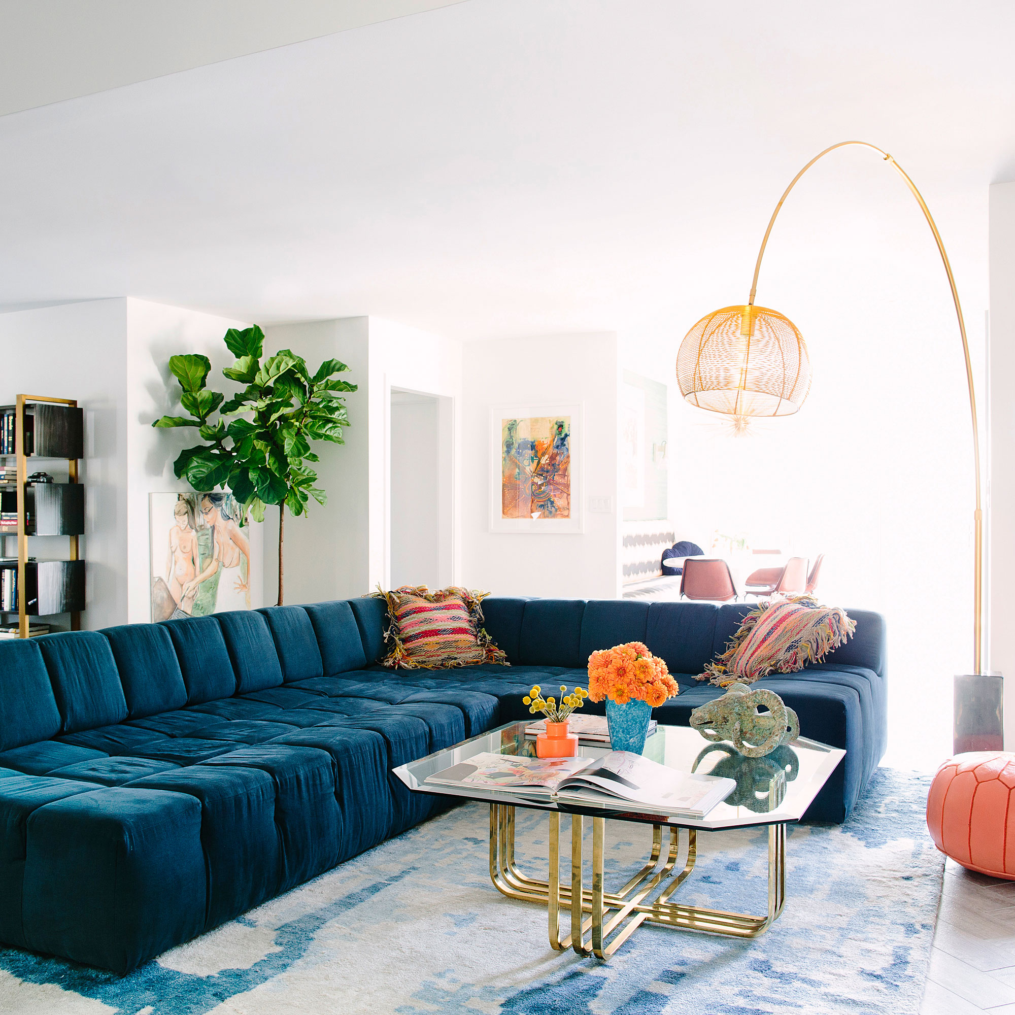 37 living room style tips sunset magazine for Living room styling tips