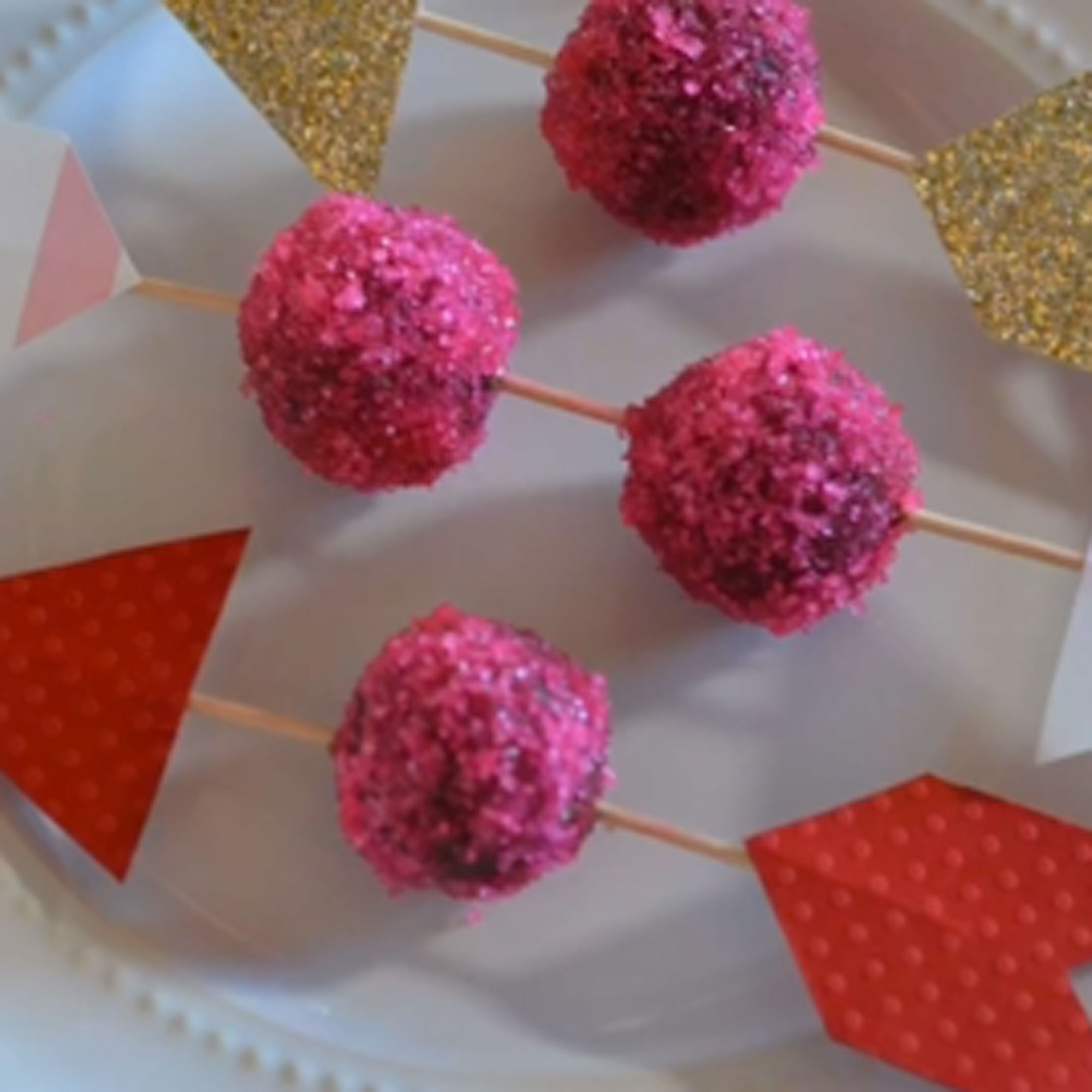 How to Make Cupid's Arrow Truffles