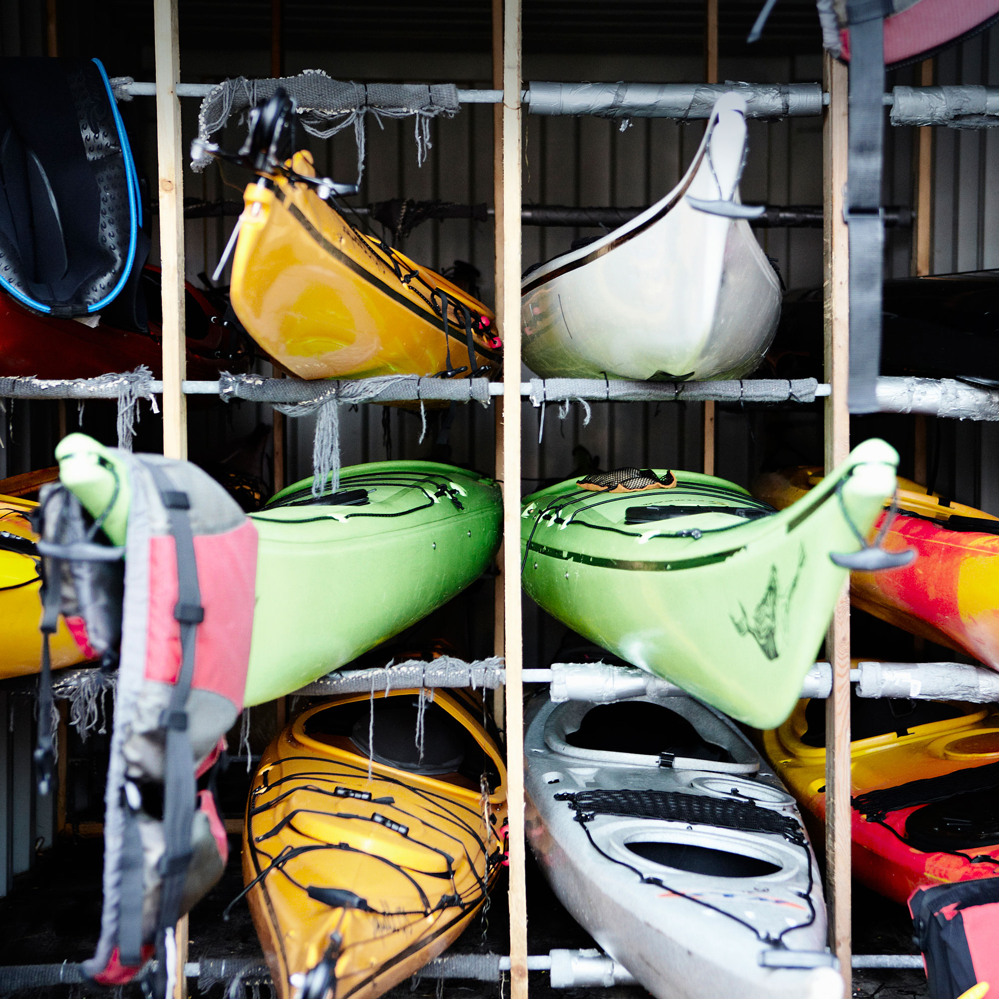 garage how large kayak to storage make id rack introduction outdoor an