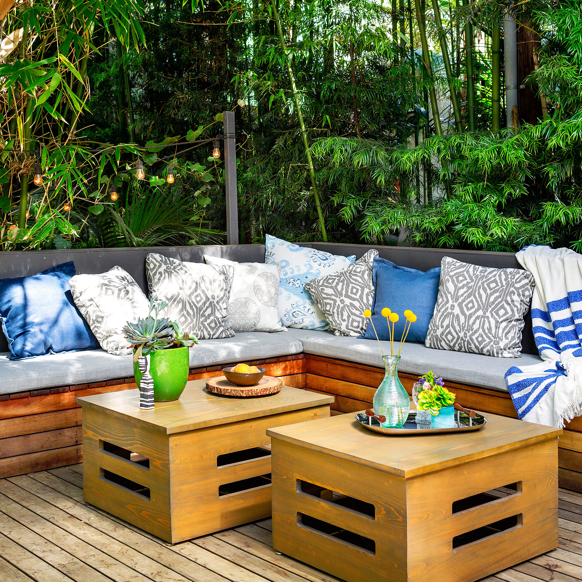 Colorful Outdoor Rooms: 18 Favorite Outdoor Rooms