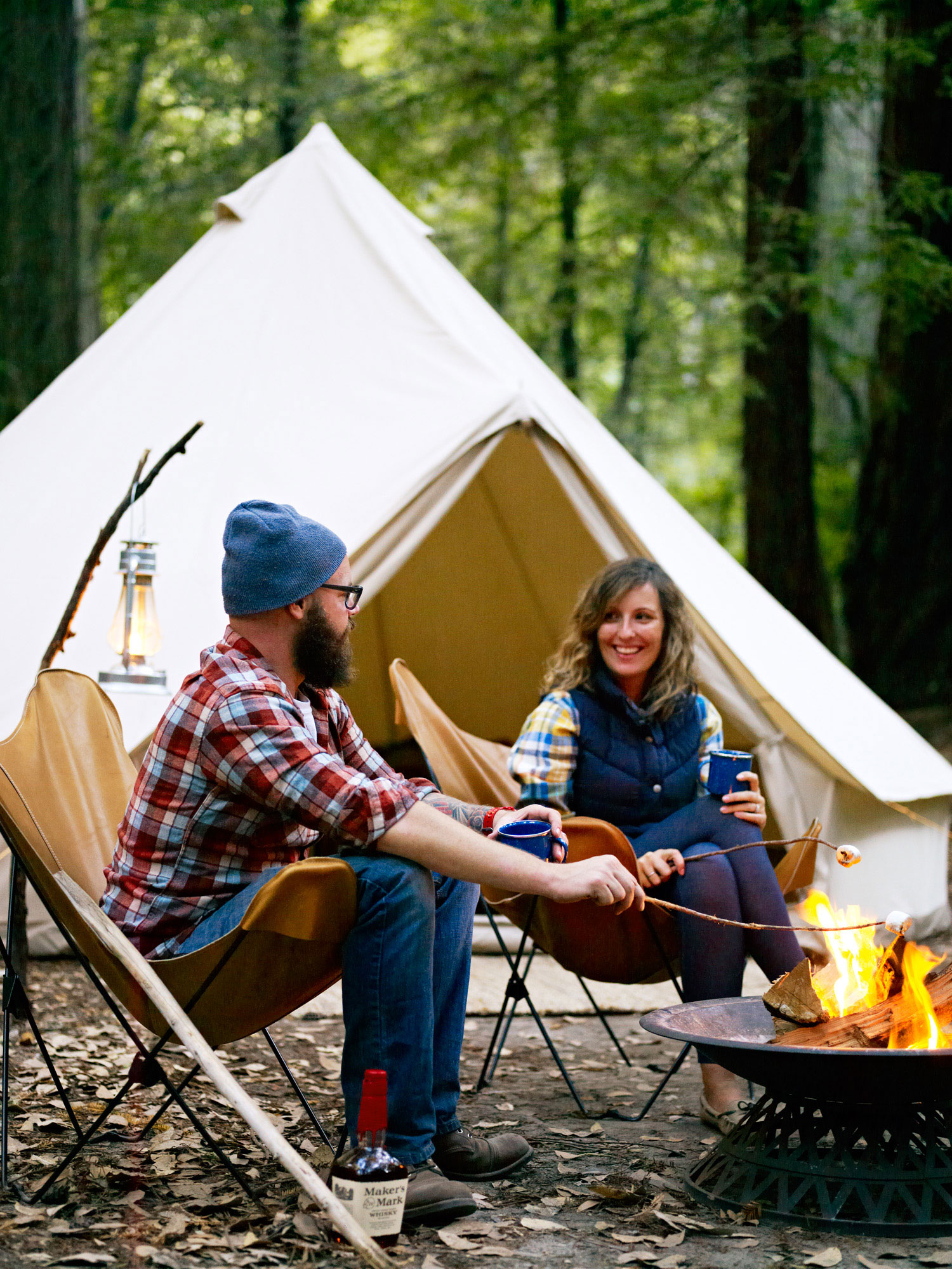 Video lessons for the perfect camping trip