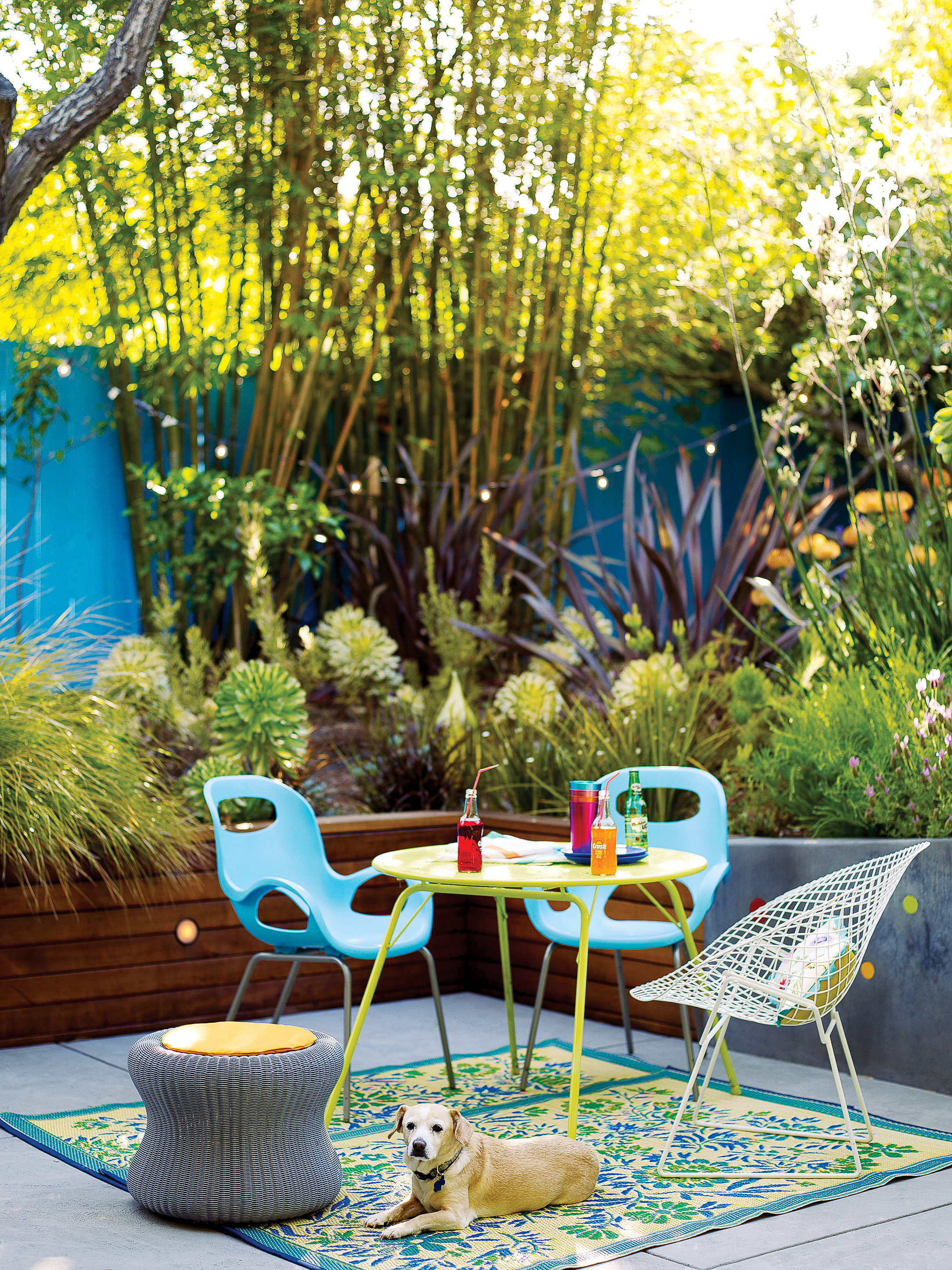 40 ideas for patios sunset magazine colorful patio solutioingenieria Image collections