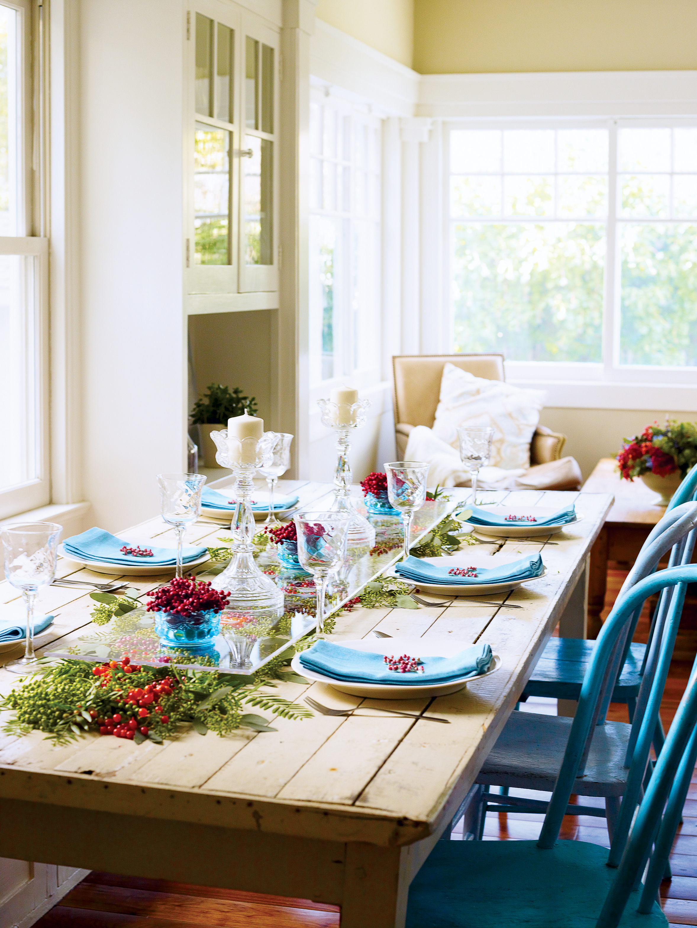 Decorate with Winter Berries - Sunset Magazine