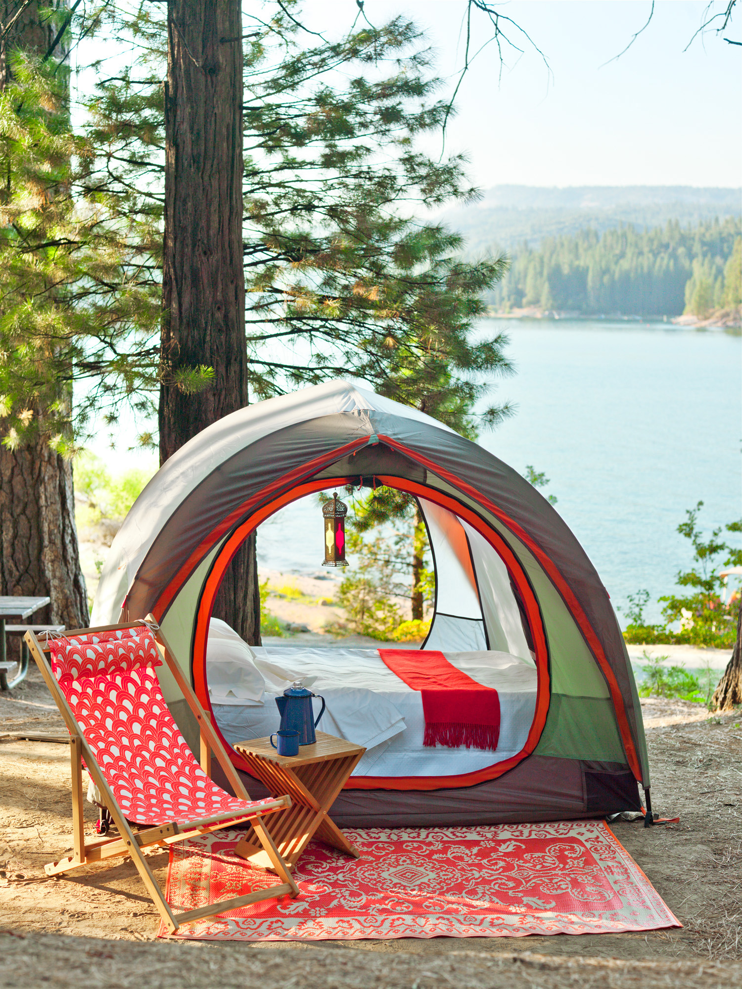 Glamp it up! Elevate your camp experience with the ...