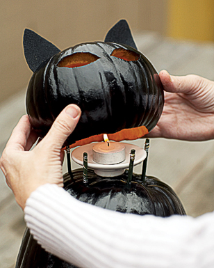 How to make cat lanterns