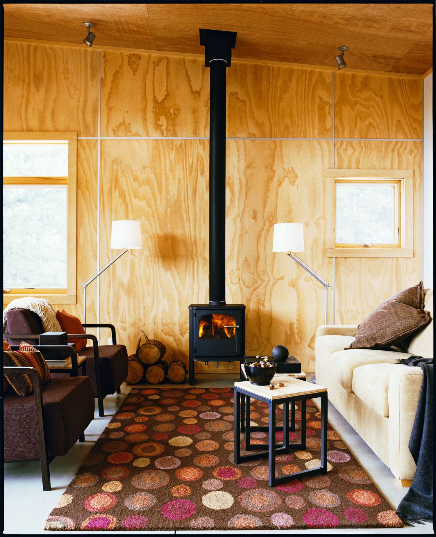 10 White Rustic Rooms: 10 Super-Cozy Rustic Living Rooms