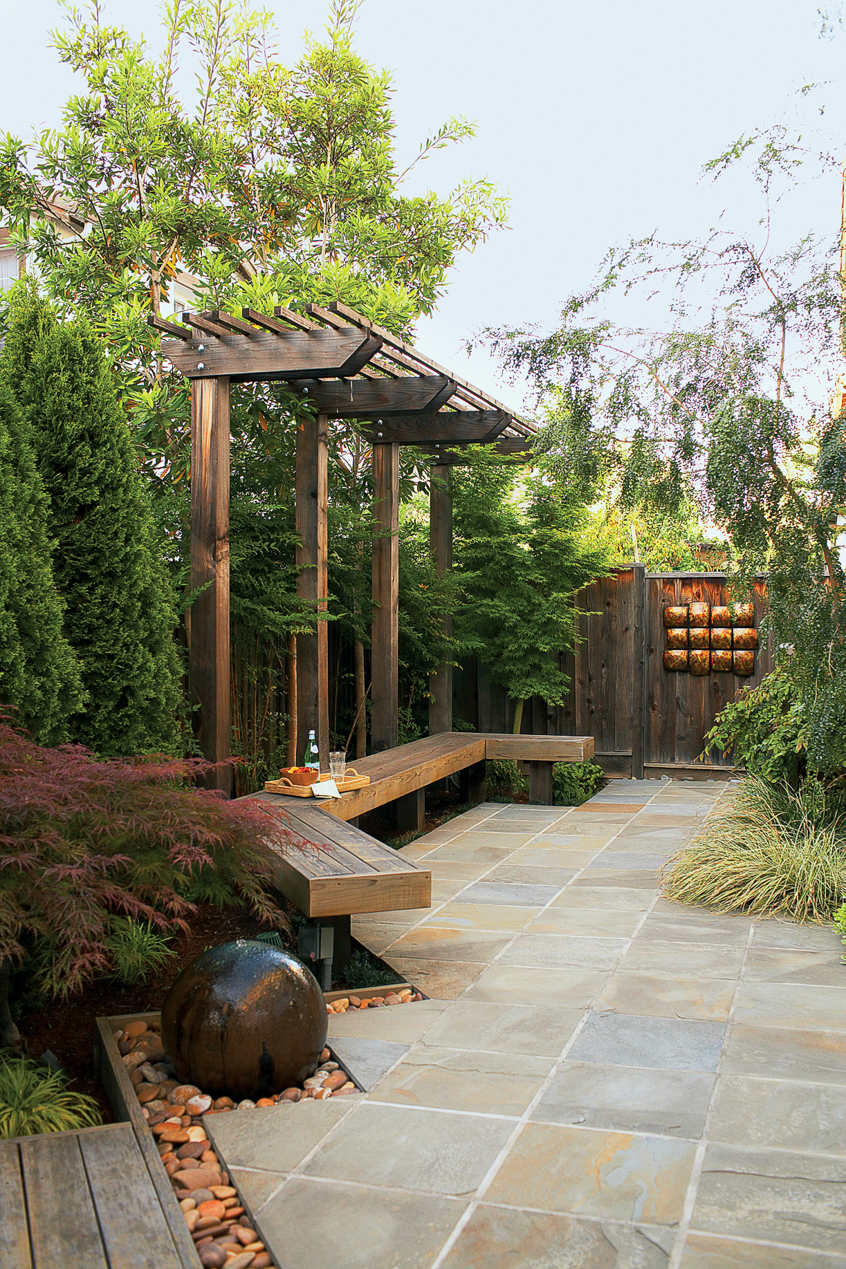 landscaping ideas with stone sunset sunset magazine