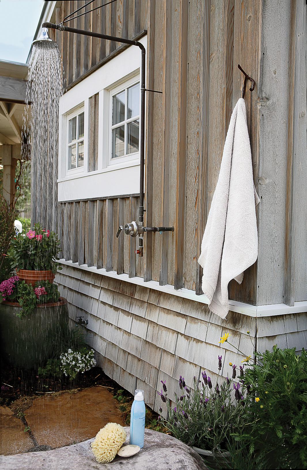 14 Refreshing Outdoor Showers Sunset Magazine