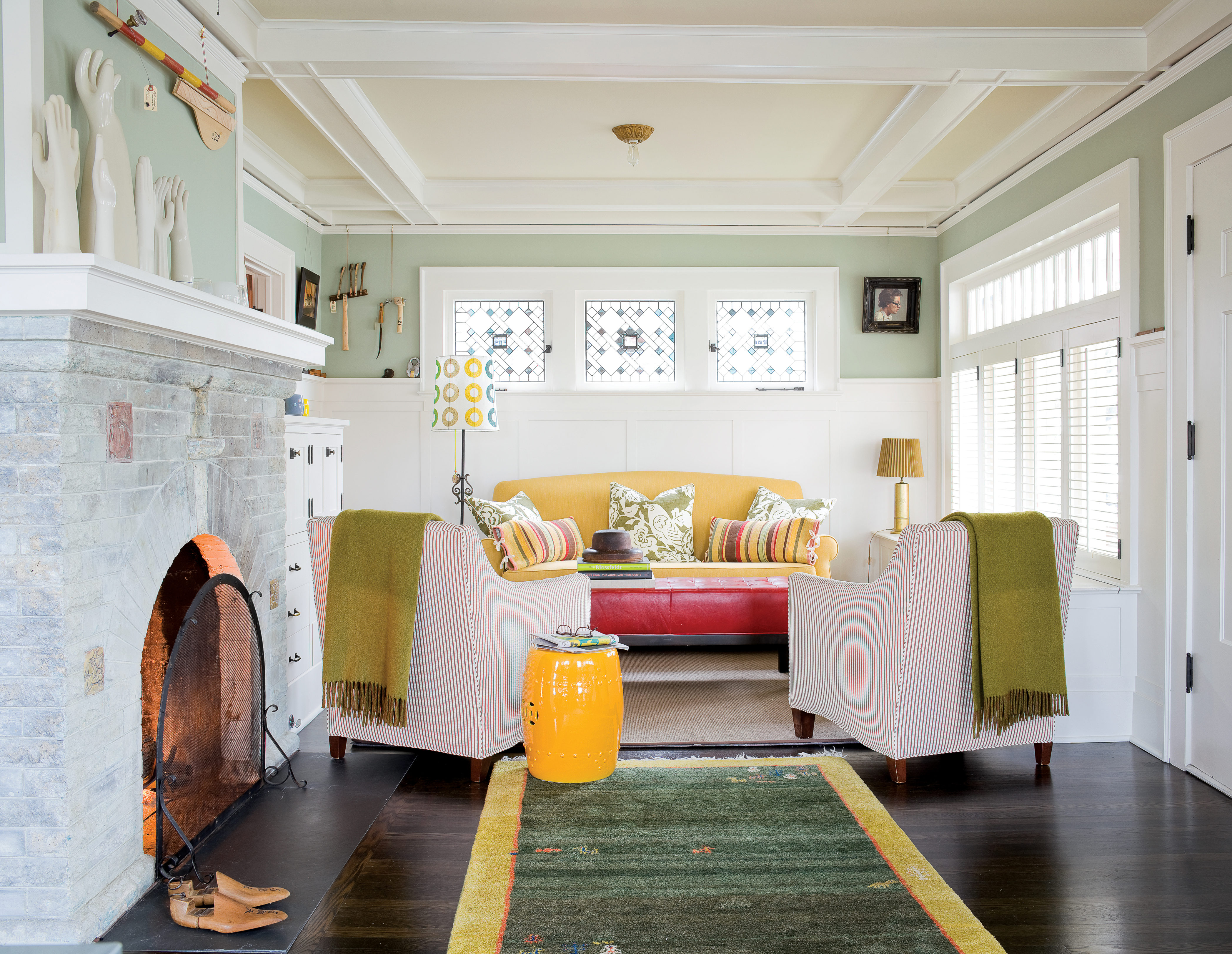 Color Ideas From a Playful House - Sunset Magazine