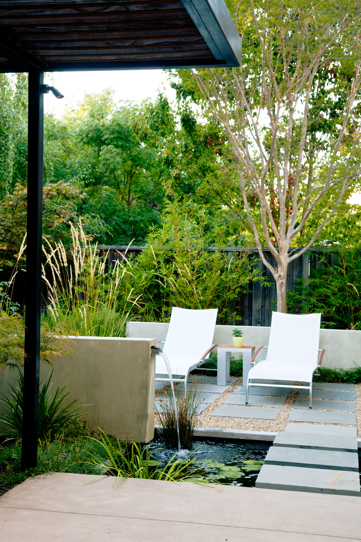 one garden 4 outdoor rooms this small northern california backyard