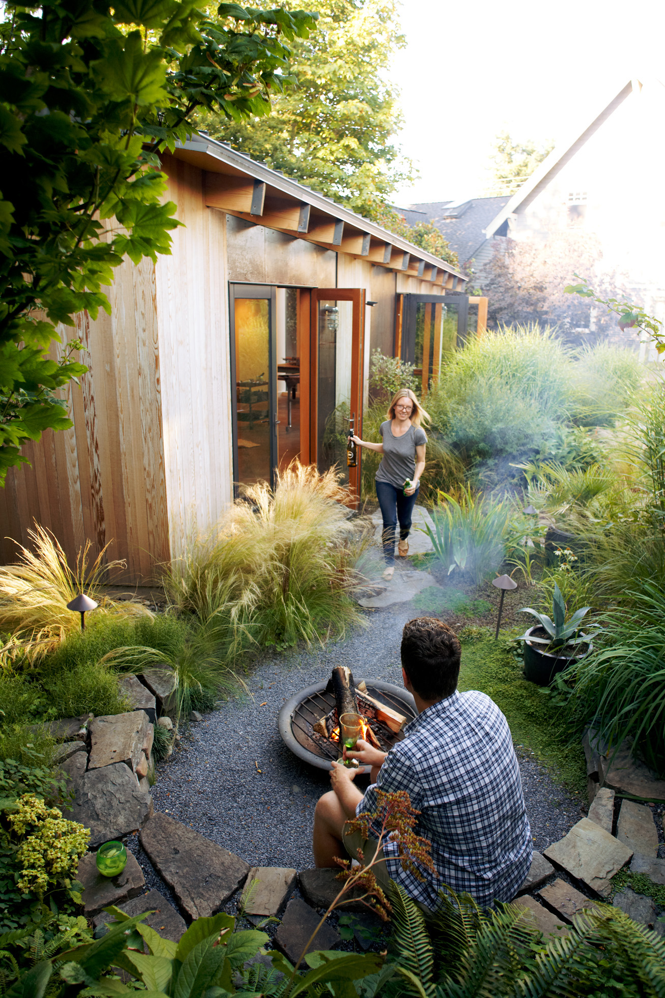 A Seattle Artist Transforms Her Backyard Into A Spot To