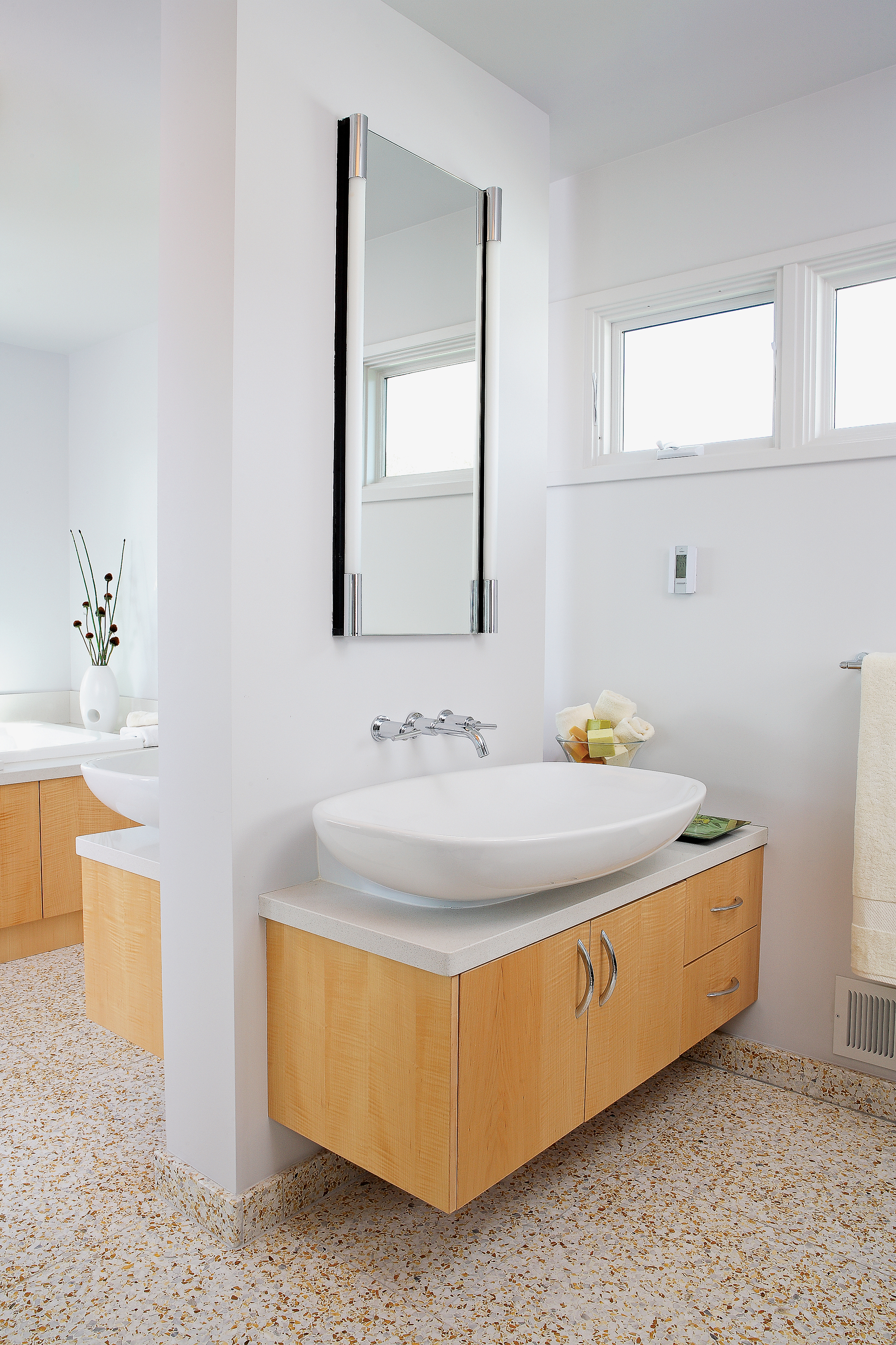 Bathroom Vanity, Counter, & Sink Ideas - Sunset - Sunset Magazine