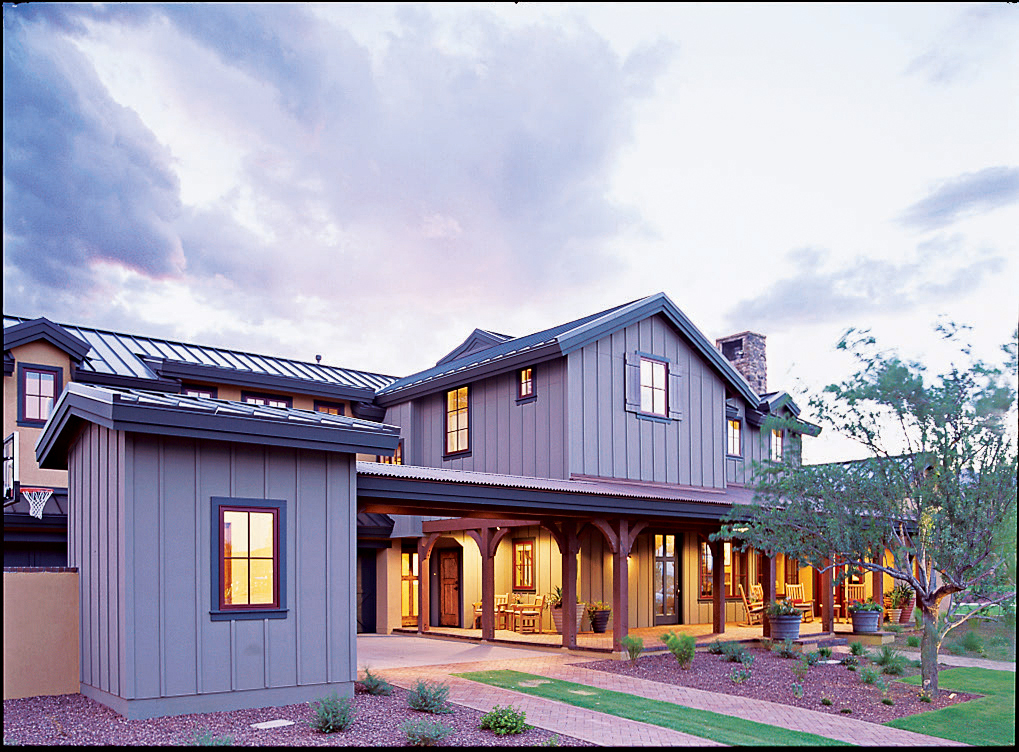 Take a tour of our southwest idea house sunset magazine for Sunset house plans