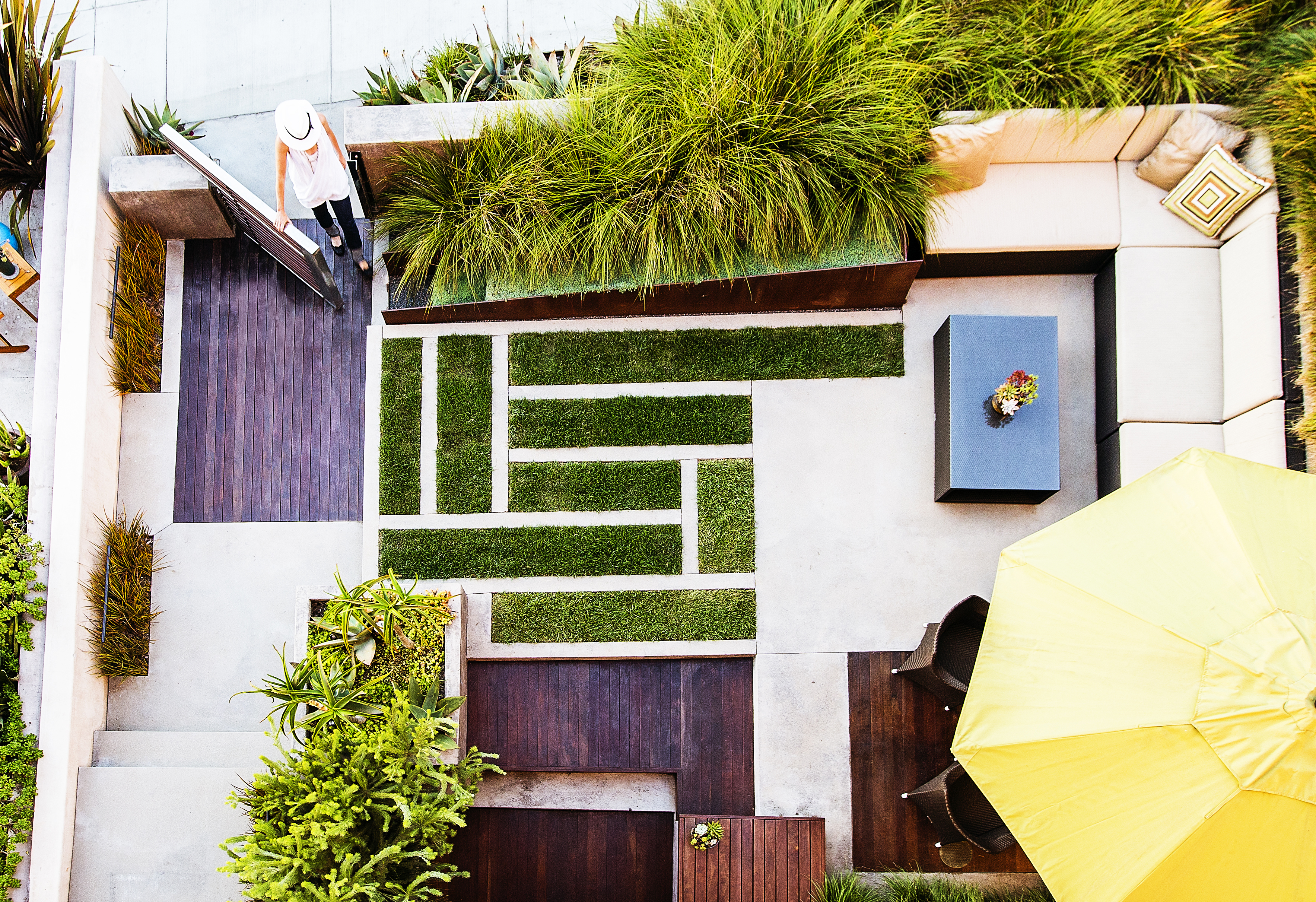 How to Design a Yard from Above