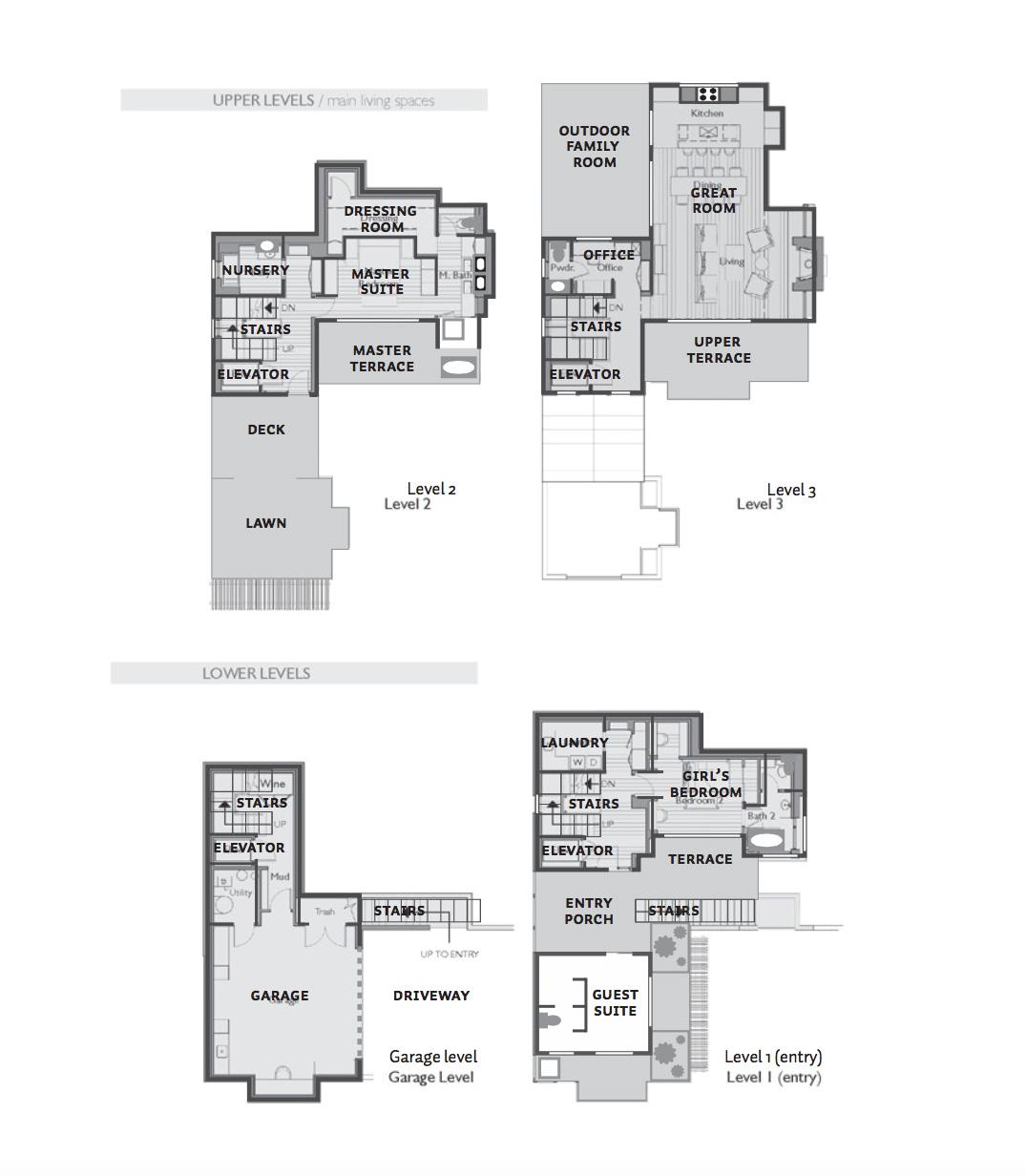 High design meets LEEDcertified sustainability in the Marin County – Scott Lee Homes Floor Plans