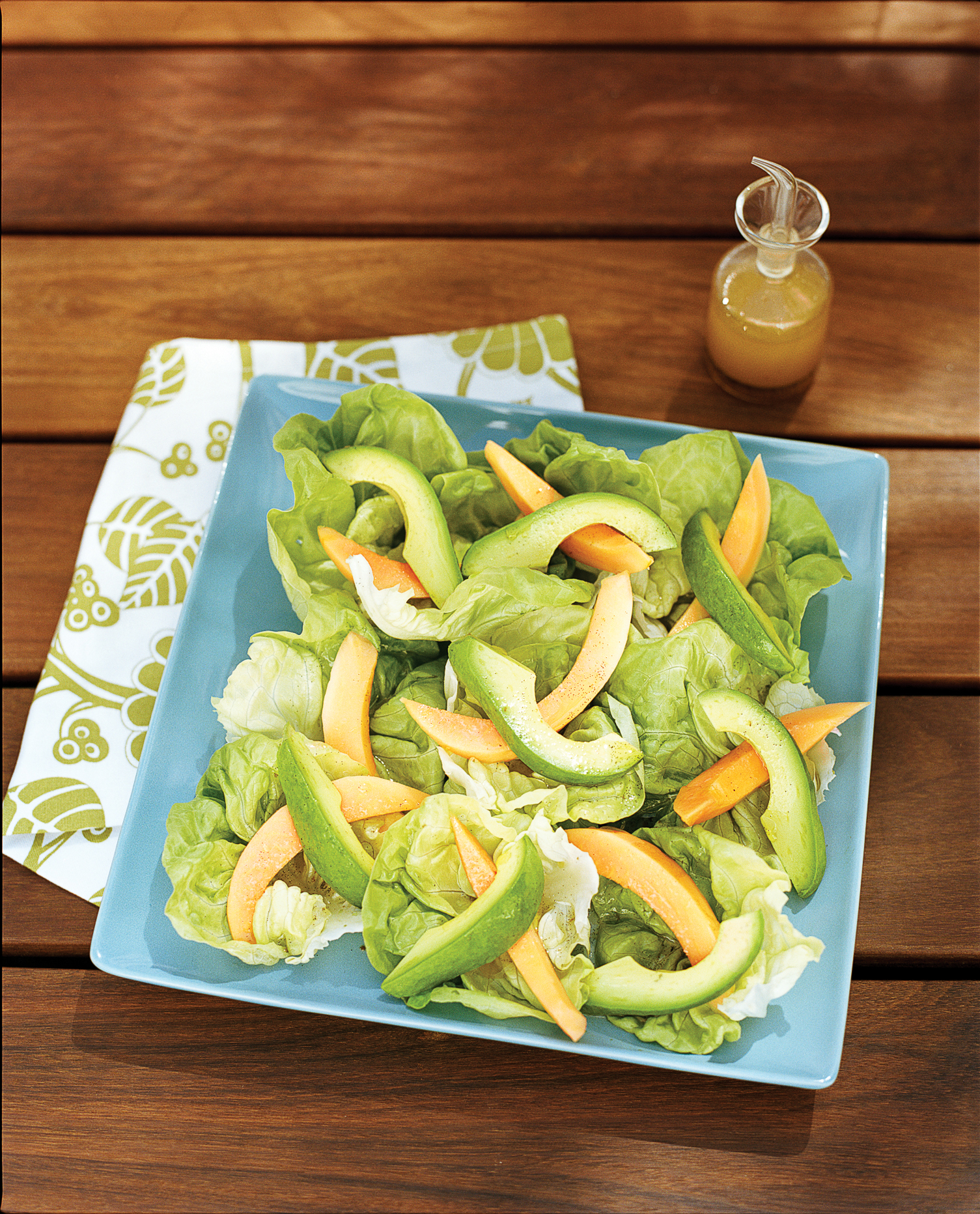 Mix up some pineapple drops and dig into our finger food version no papaya and avocado salads with hawaiian vanilla vinaigrette forumfinder Choice Image