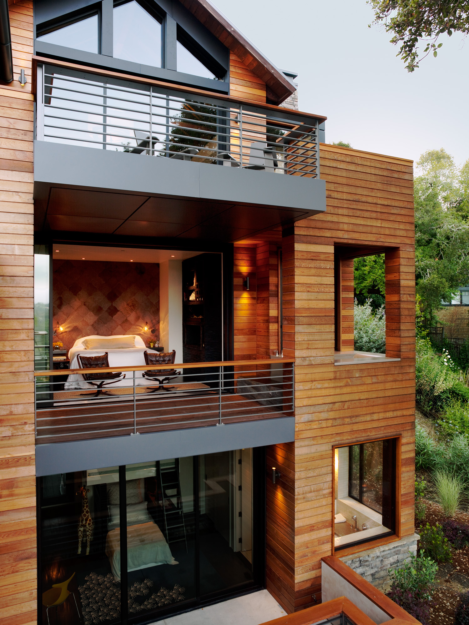 Sustainable Treetop Home - Sunset Magazine
