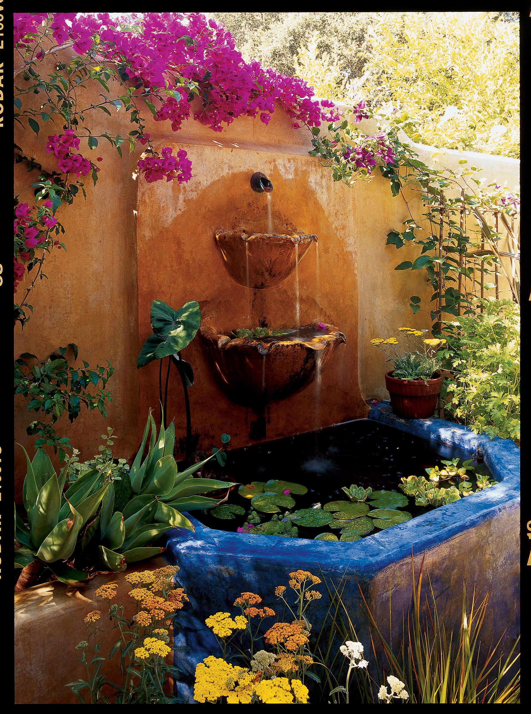 31 Inspiring Garden Fountains Sunset Magazine