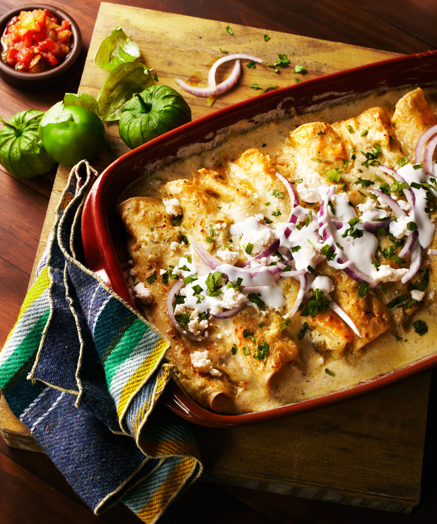 42 easy mexican dinners sunset magazine enchiladas suizas forumfinder Images