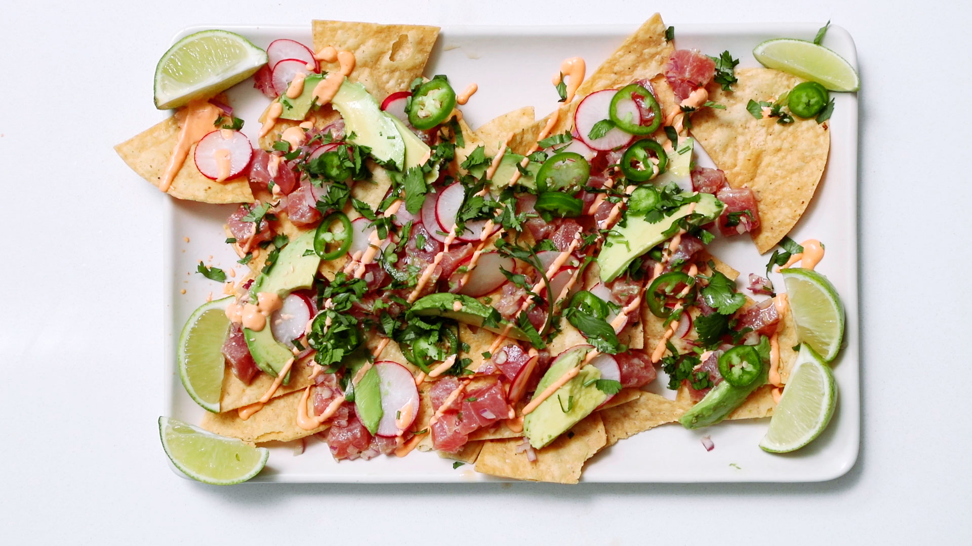 How to Make Poke Nachos